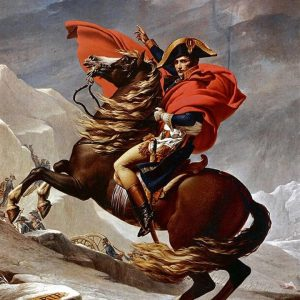 Napoleon Bonaparte (Crossing the Alps)