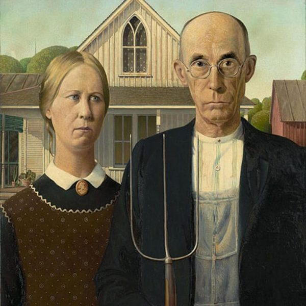 american gothic print gift